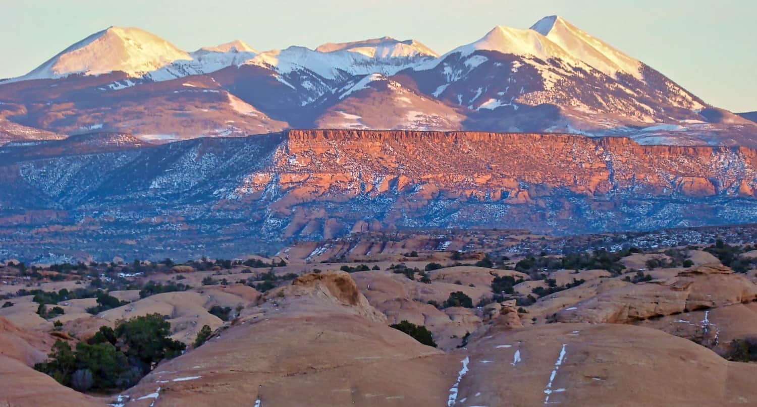 3 Days in Moab - La Sal Mountains