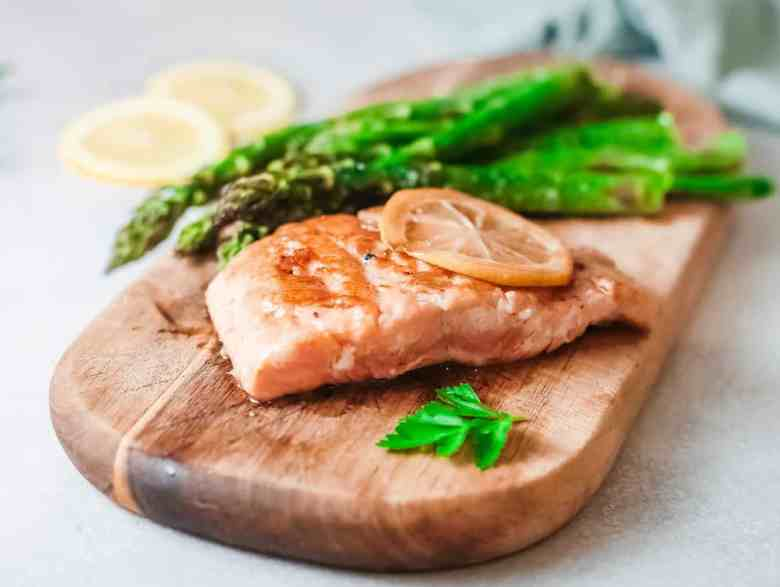 Grilled Alaska Salmon