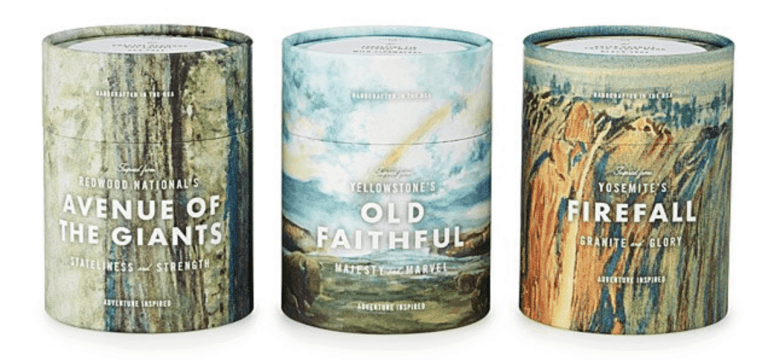 National Park Gifts - Candles