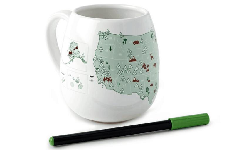 National Park Gifts - Color Mug