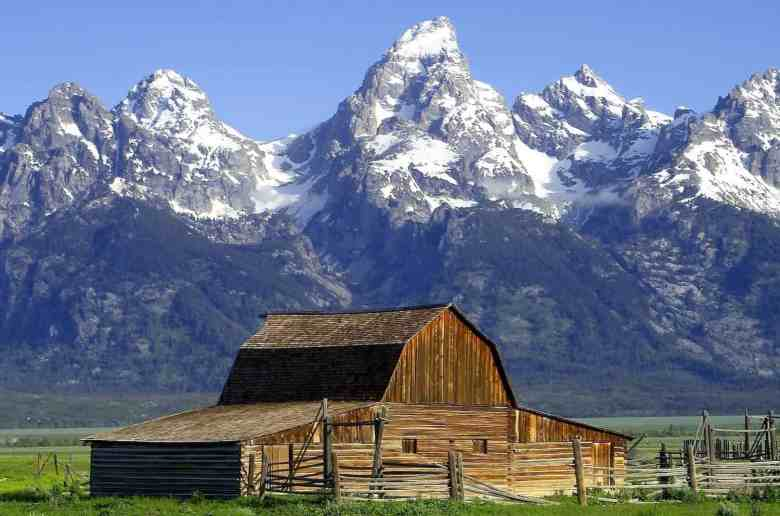 National Parks in Wyoming - Grand Teton