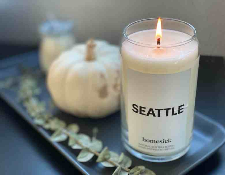 Homesick Candles Review - Seattle