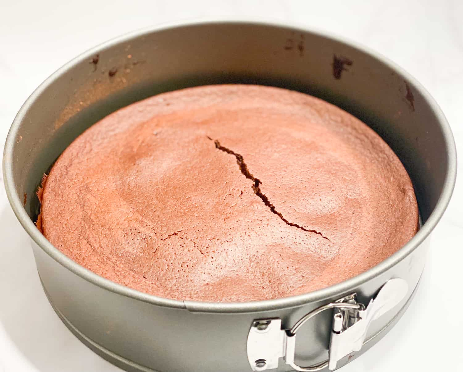 Alaskan Earthquake Cake Baked