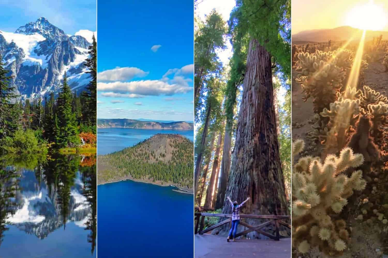 West Coast National Parks Road Trip Hero