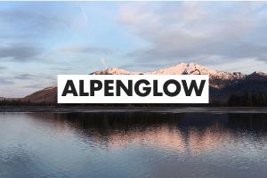 Alpenglow Definition Card