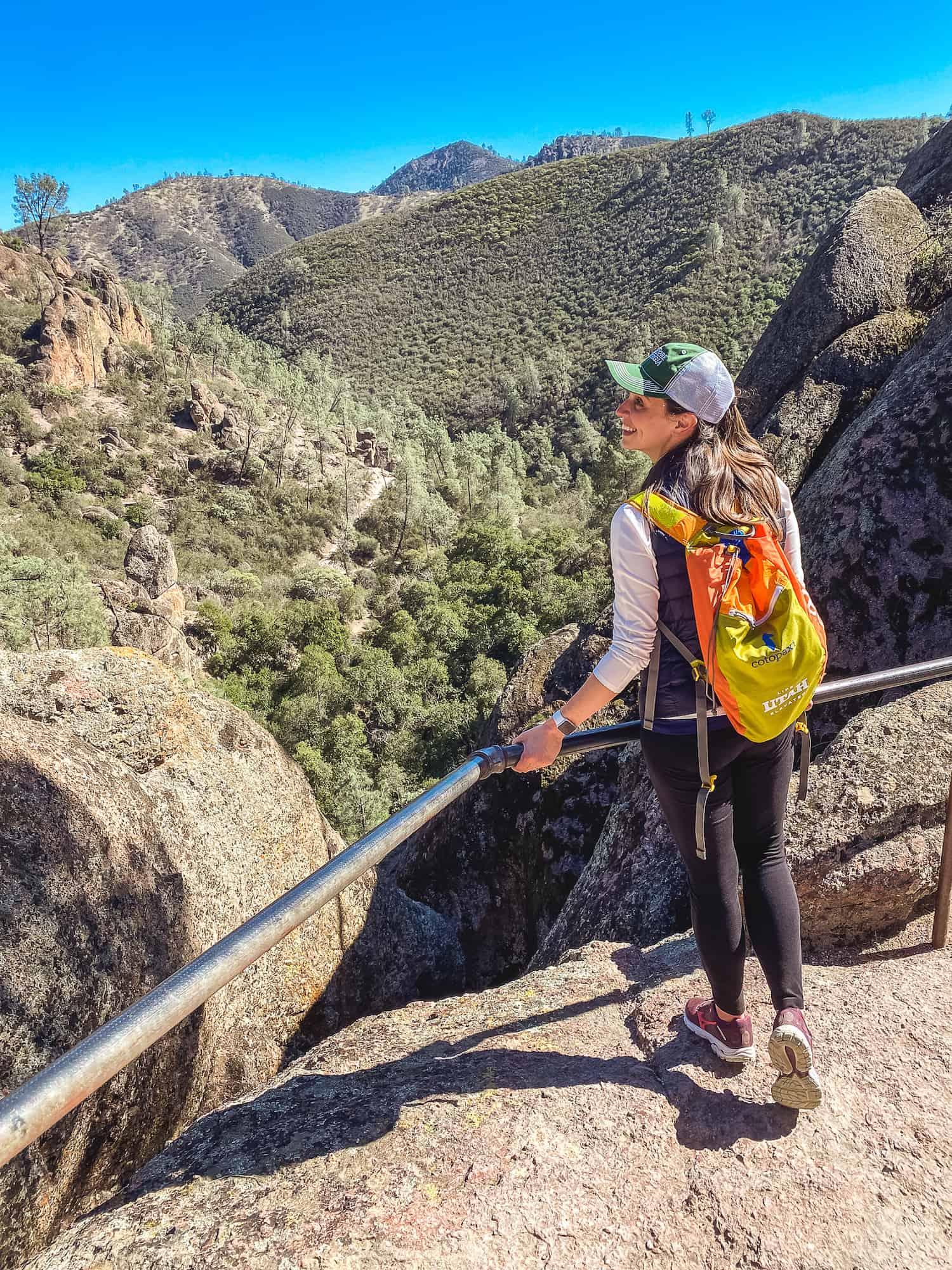 Pinnacles National Park - Condor Gulch Overlook