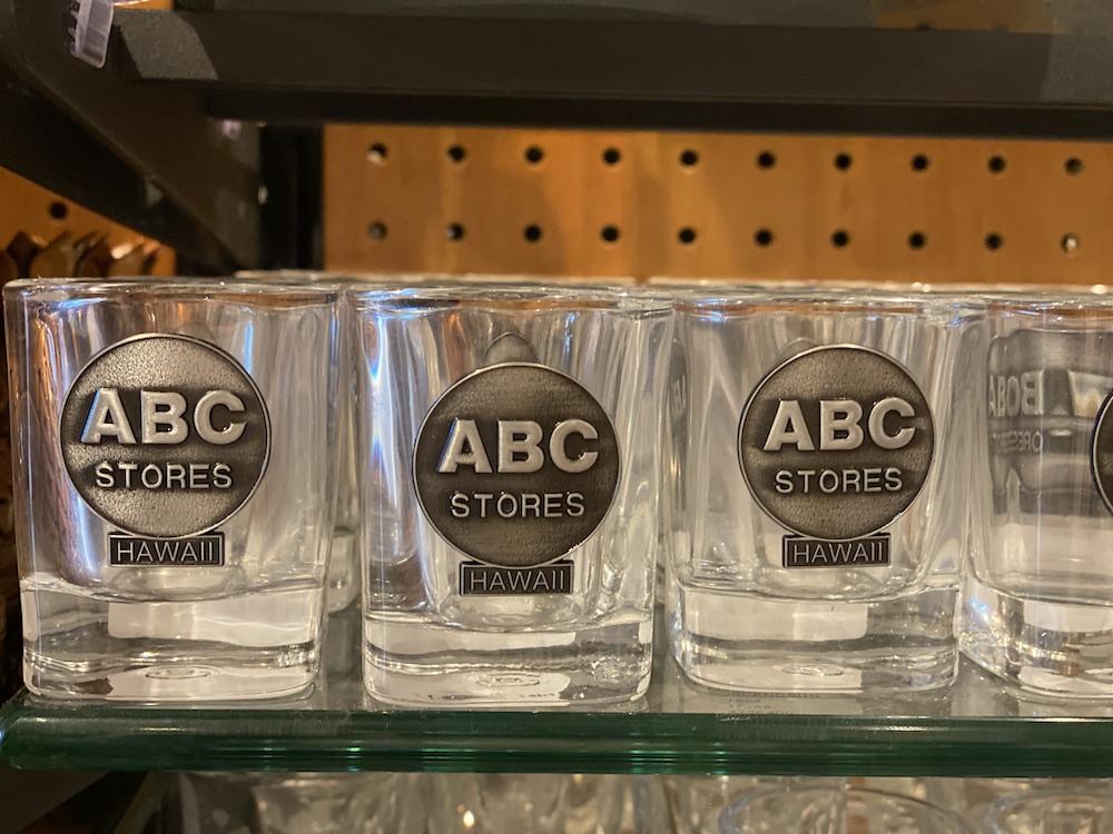 Hawaii Souvenirs - ABC Store Shot Glasses