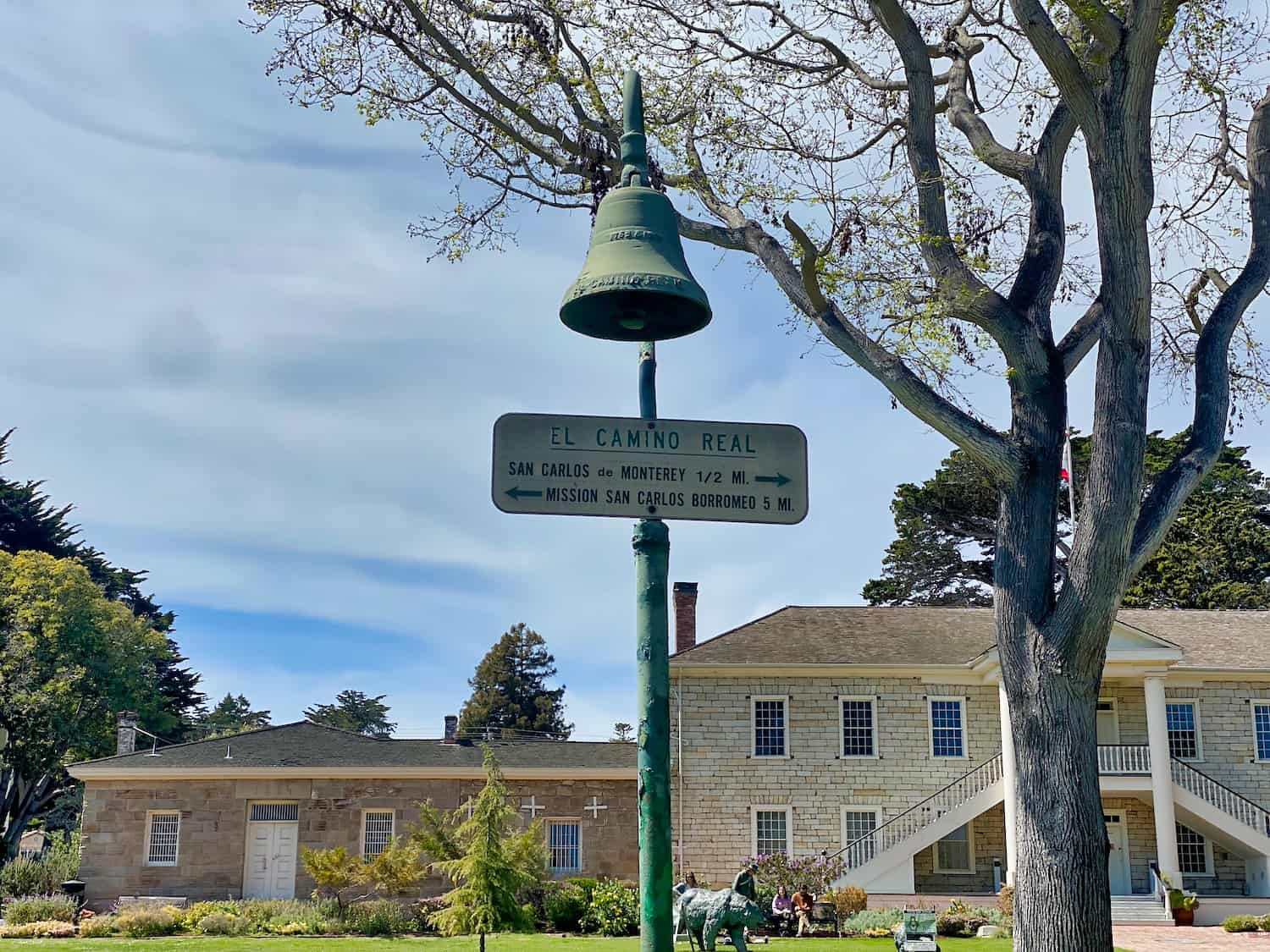 Bell for the Camino Real in Monterey
