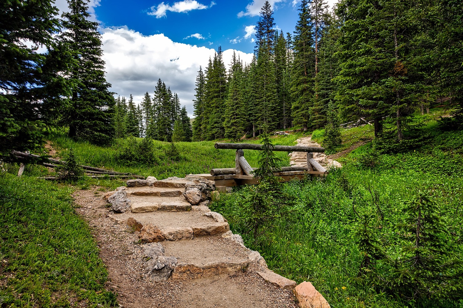 Rocky Mountain National Park - Hiking Trail