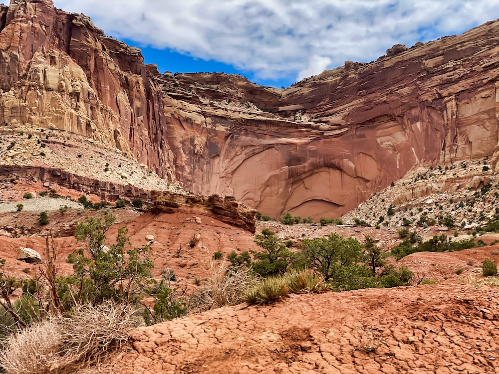 Rock Formation in Capitol Reef