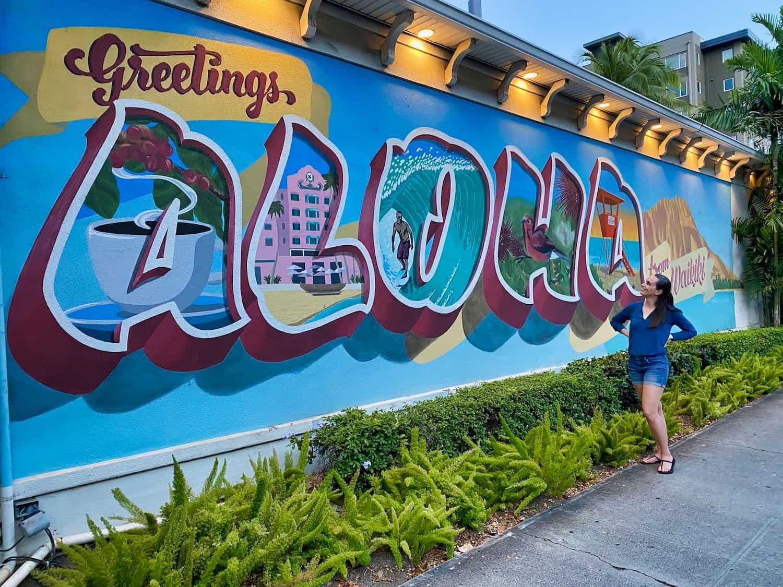 Oahu, Hawaii - Aloha Street Art