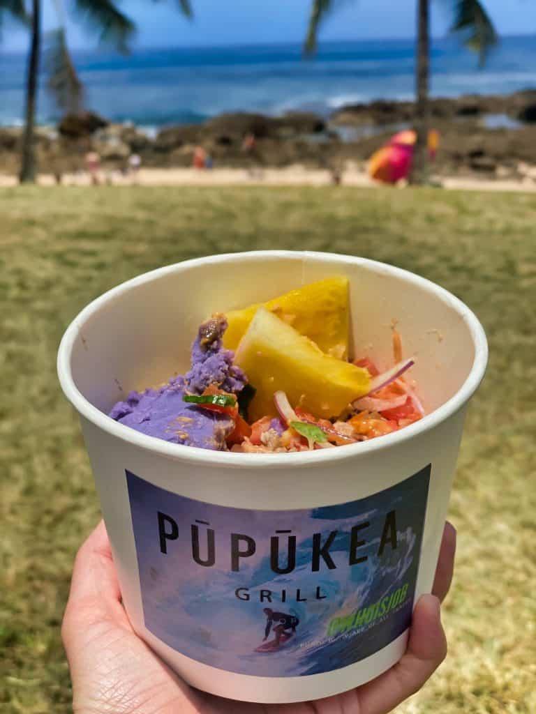 Oahu, Hawaii - Local Food from Pupukea Grill