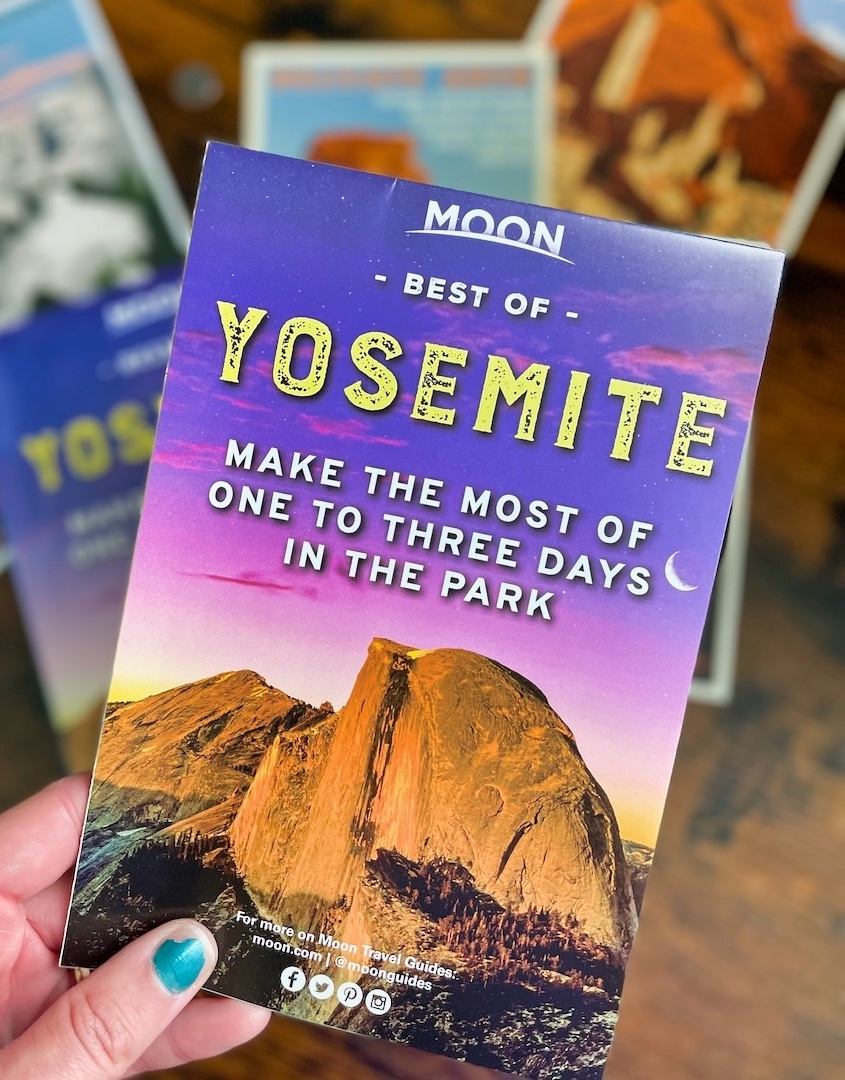 Yosemite Moon Guide - Pull Out Map