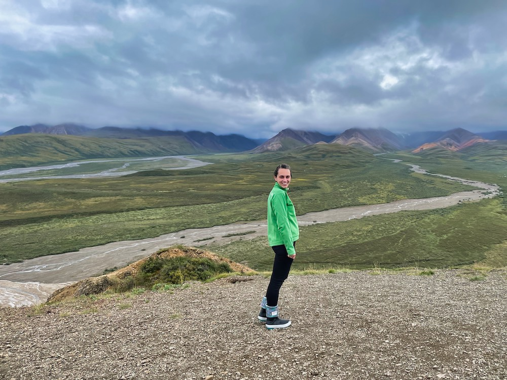 John Hall's Alaska Review - Day 4 - Denali Park Drive Polychrome Pass