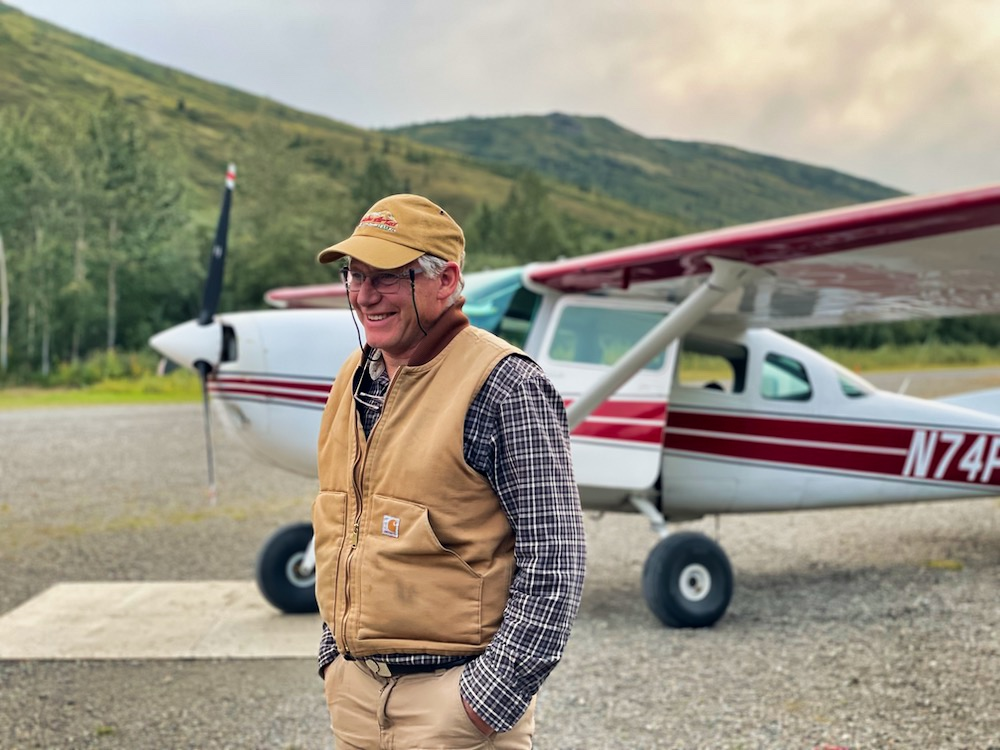 John Hall's Alaska Review - Day 5 - Flightseeing Pilot