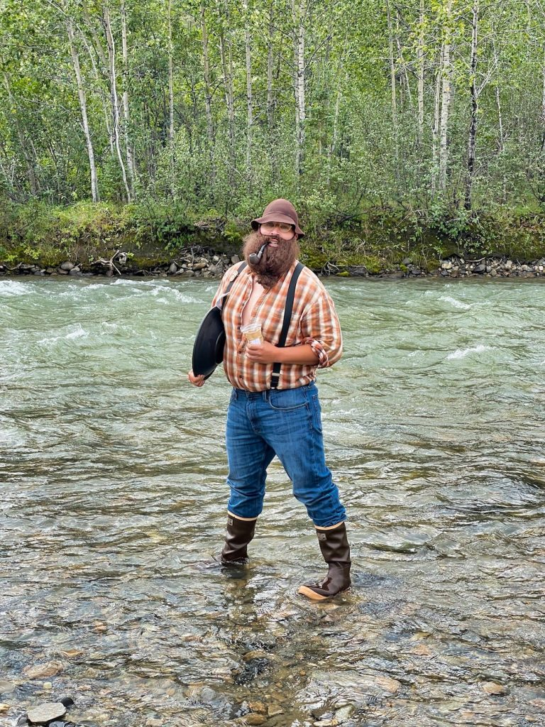 John Hall's Alaska Review - Day 5 - Kantishna Charlie