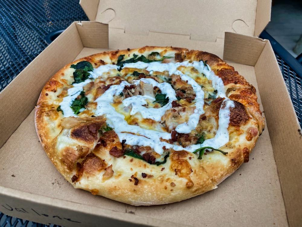 John Hall's Alaska Review - Day 6 - Talkeetna Pizza