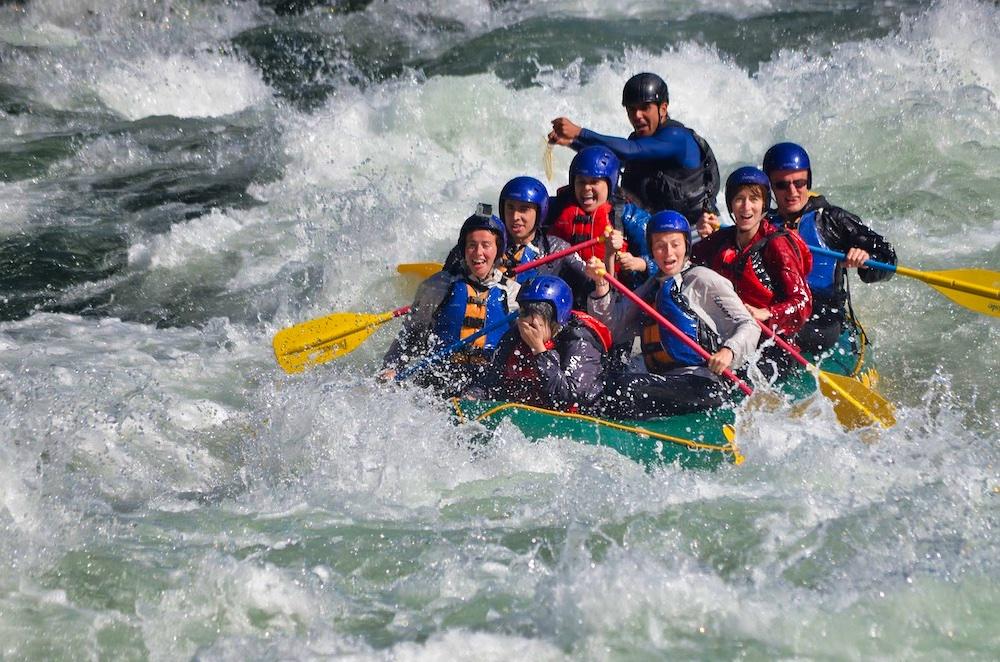 Denali National Park Itinerary - Rafting