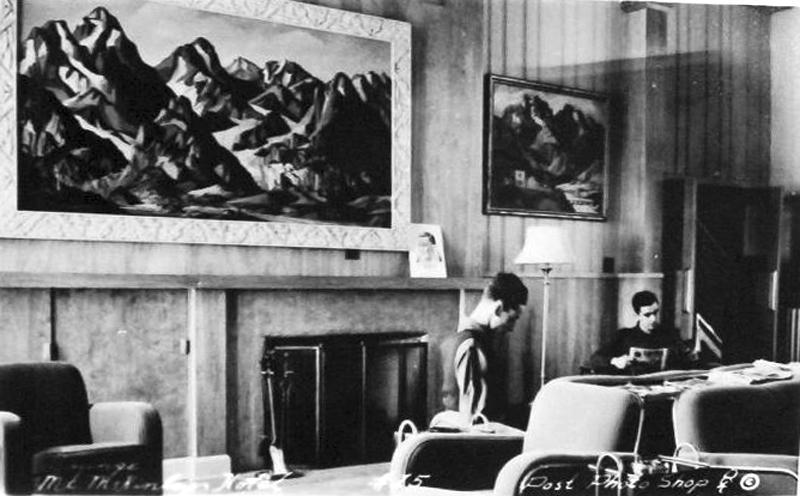 McKinley Park Hotel - Lobby (1940)