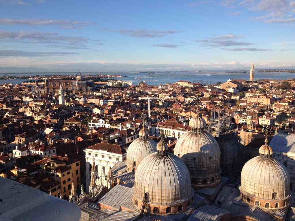 Doge's Palace from above