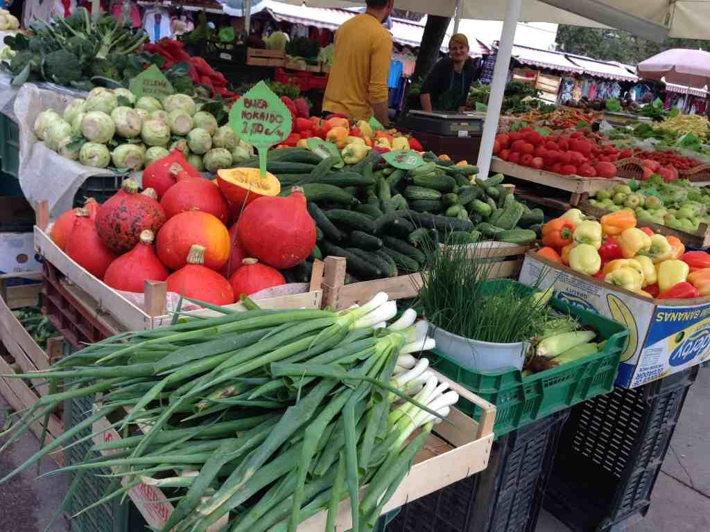 Ljubljana's market