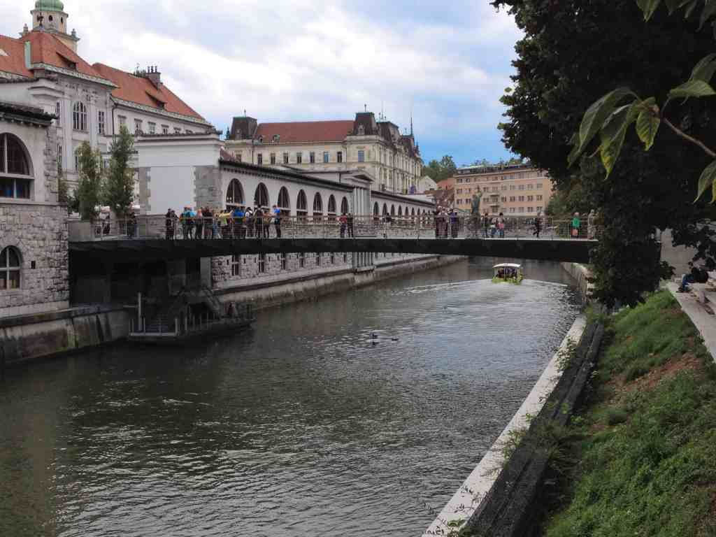 Ljubljanica River in Ljubljana