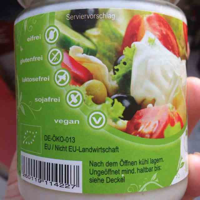 vegan products are clearly identified in Germany