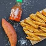 Tempura sweet potato fries
