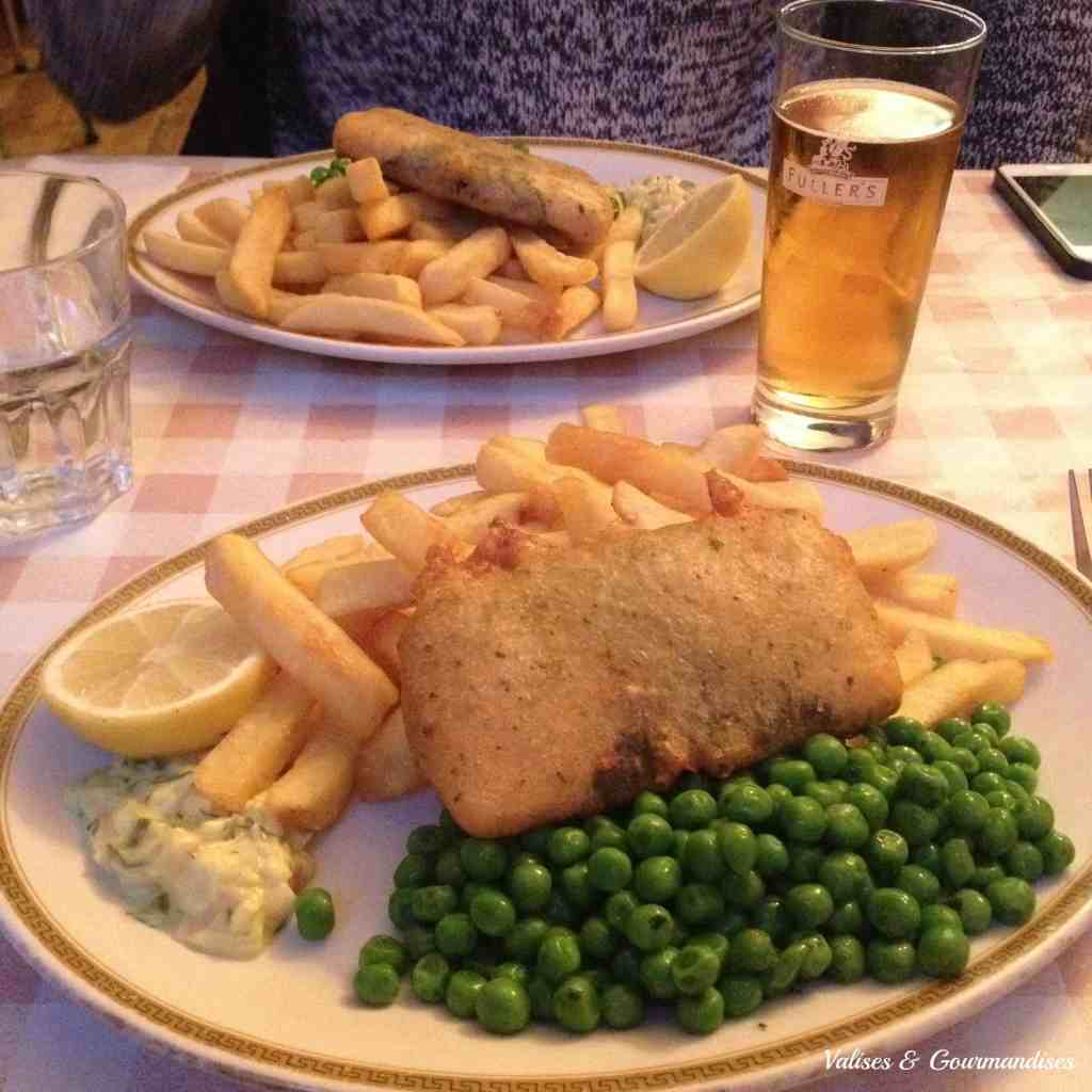 Vegan fish'n chips_Norman's coach and horse London