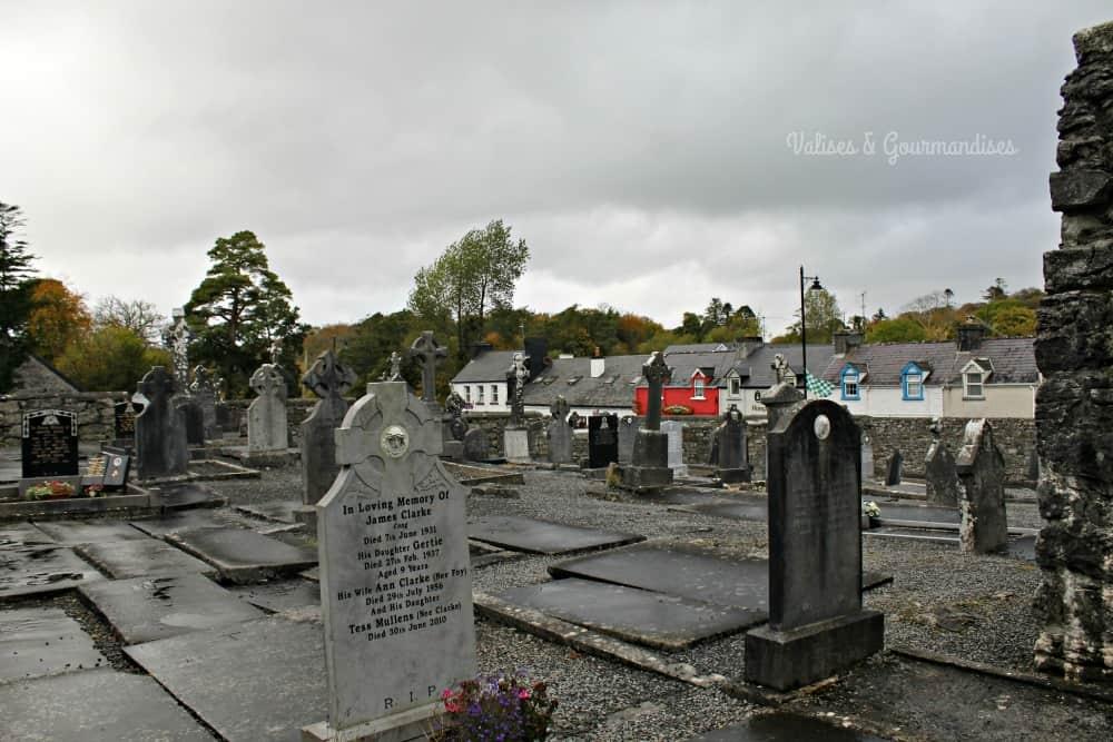 Cong cemetery, Ireland