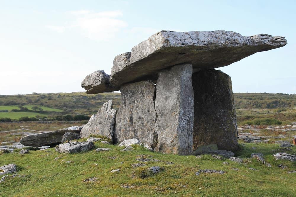 Poulnabrone Dolmen near Galway, Ireland