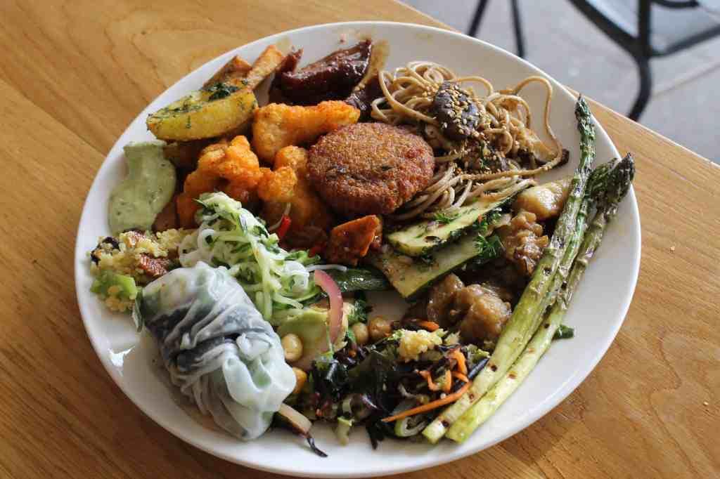 Spirit-a vegetarian buffet in Rotterdam