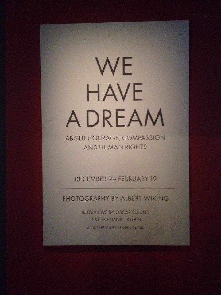 Inspiring exhibition at Fotografiska, Stockholm