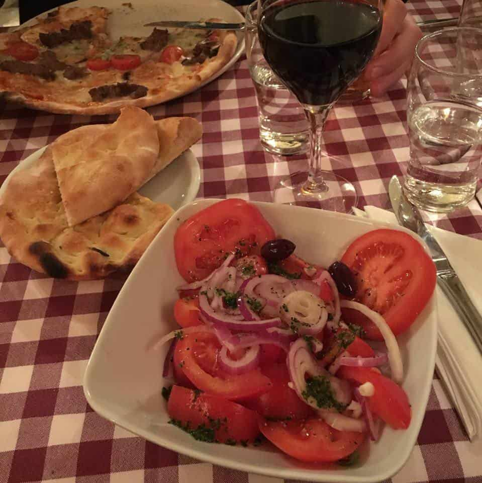 Vegan italian food in Stockholm
