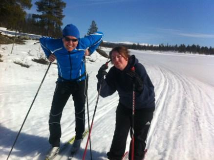 Heidi og Øystein