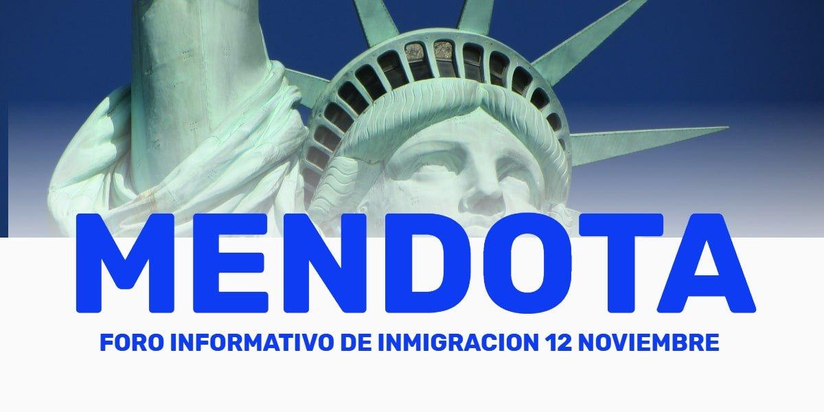 Evento Informativo de Inmigración en Mendota 12 Noviembre 2020 CVIIC
