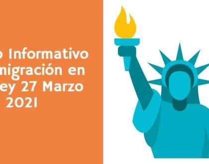 Evento Informativo de Inmigración en Reedley 27 Marzo CVIIC