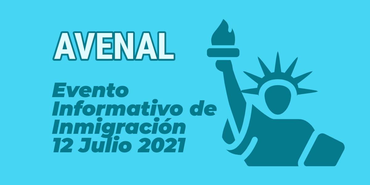 Evento Informativo de Inmigración en Avenal 12 Julio 2021 CVIIC