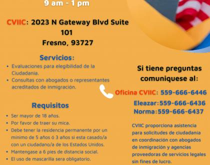 Taller de Ciudadanía en Fresno 25 Septiembre