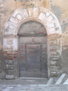 Portale del Palazzo Marcellusi