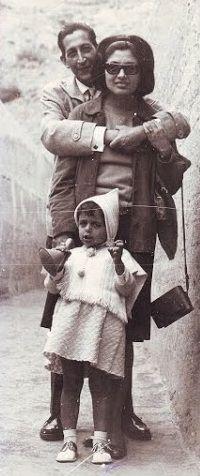SSB y esposa irma lostaunau e hija ximena