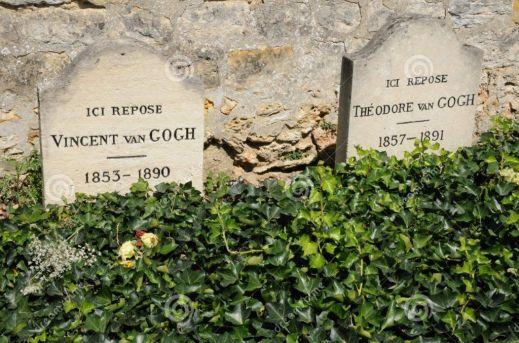 Tumbas de los hermanos Vincent y Theo van Gogh