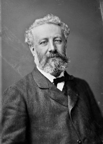 Fotografía del autor Julio Verne por Nadar. Año 1878