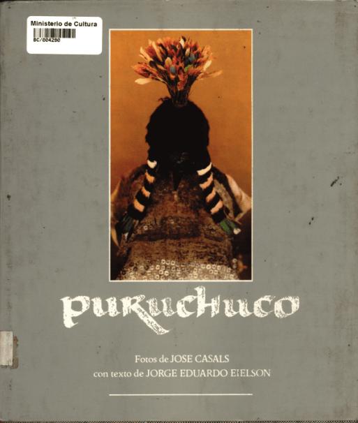 """Libro """"Puruchuco"""" en que fue publicado este texto originalmente"""