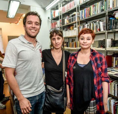 Presentación del libro en Valparaíso, Chile. Enrique Winter, Alejandra Costamagna y Gladys González.