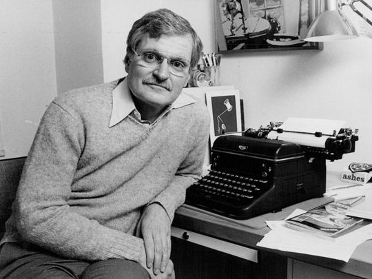 El poeta John Ashbery