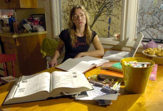 La poeta Olena Kalytiak Davis. C. 2006 Crédito de la foto: Bill Roth / ADN archive 2006