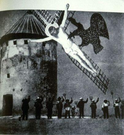 """""""Molino de La Mancha"""", 1963. Montaje de Juan Larrea"""