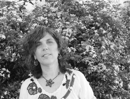 La poeta Laura Forchetti