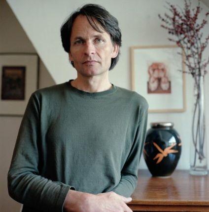 El escritor Wolfgang Hermann.